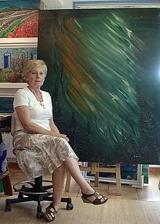 peintre-hossegor